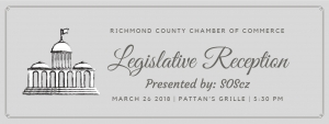 Legislative Reception at Pattan's Monday, March 26th