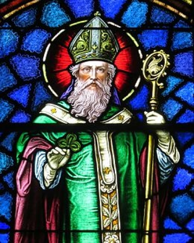 Iconic Image of Saint Patrick