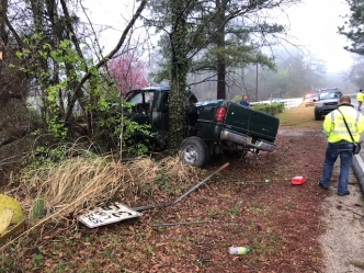 Vehicle Totaled in Cordova