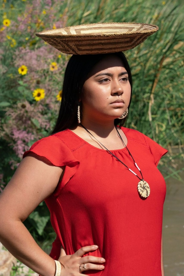Recent UNCP graduate Bianca Hernadez earned her degree in May and has since returned home to work for her tribe, the Gila River Indian Community in Arizona.