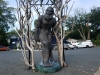 Bigfoot Statue in Troy, Montgomery County