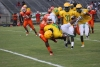 Rising junior running back Lacyrus Ellerbe (25) was one of three Richmond tailbacks to have a strong showing in the team's first contact scrimmage of the year.