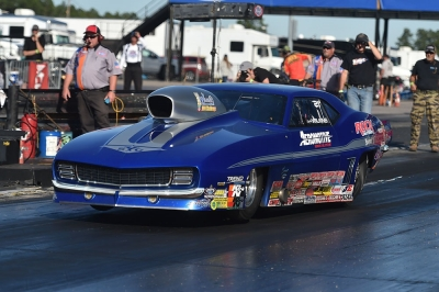 Sandy Wilkins won his fourth straight Southeast Division championship Sunday at Rockingham Dragway.