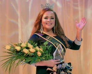 Alaina Malcom was crowned Miss UNCP on Feb. 28.