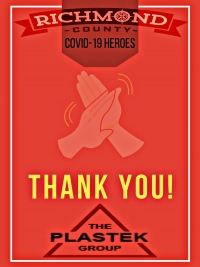 Richmond County COVID-19 Heroes: Plastek manufacturing protective face shields