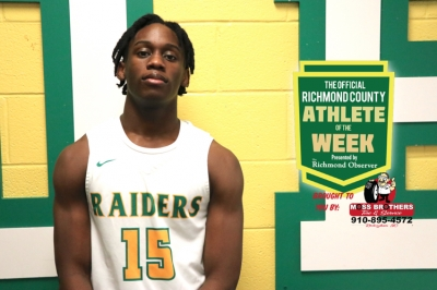 Patrick McLaughlin: The Official Richmond County Male Athlete of the Week Video