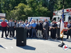 NCGHSP Rallies Multiple Agencies to Johnston Co. For 'Move Over Law' Awareness Event on May 15, 2019.