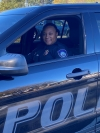 Sgt. Jacqueline Brown, of the Hamlet Police Department, earned her Basic Law Enforcement Training certification and associate degree in Criminal Justice Technology from Richmond Community College.
